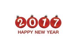Bonne année 2017 sur le fond abstrait Photos libres de droits