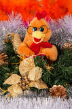 Bonne année, année du coq Image stock