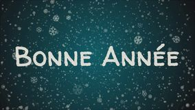 Free Bonne Annee, Happy New Year In French Language, Greeting Card. Royalty Free Stock Images - 134091689