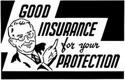 Bonne assurance Image libre de droits
