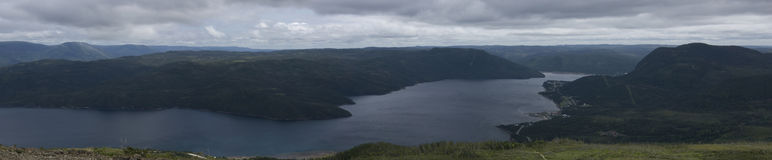Bonne Bay Lookout Royalty Free Stock Image
