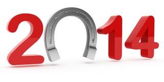 Bonne chance 2014 Images stock