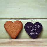 Bonne fette des meres, happy mothers day in french Royalty Free Stock Photos