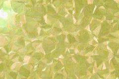Bonne illustration abstraite de peinture verte et jaune d'Impasto d'impressionniste Fond beau pour votre conception image libre de droits