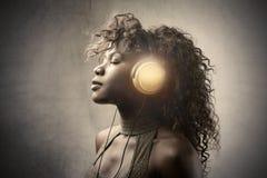 Bonne musique Photographie stock libre de droits