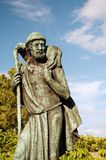 Bonne statue de berger Images libres de droits