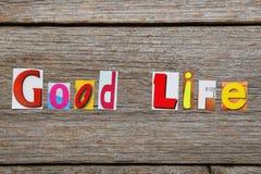 Bonne vie Photo libre de droits