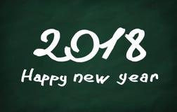 2018 bonnes années Photos stock
