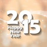 2015 bonnes années Images stock