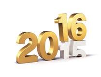 2016 bonnes années illustration de vecteur