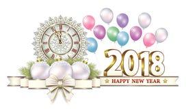 2018 bonnes années Images libres de droits