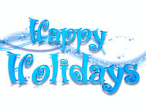 Bonnes fêtes Photographie stock libre de droits