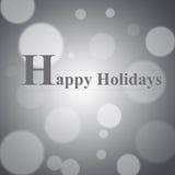 Bonnes fêtes Photographie stock