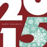 Bonnes fêtes 2015 Photographie stock