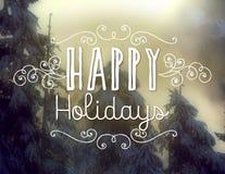 Bonnes fêtes Images libres de droits
