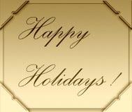 Bonnes fêtes ! illustration libre de droits
