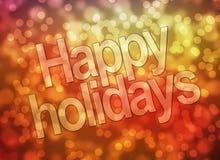 Bonnes fêtes Photos libres de droits