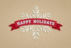 Bonnes fêtes Photo libre de droits