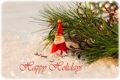 Bonnes fêtes carte Photos stock