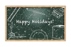 Bonnes fêtes conseil Images stock