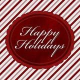 Bonnes fêtes message Image libre de droits