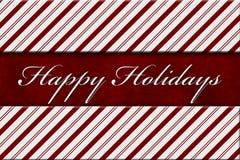 Bonnes fêtes message Photographie stock