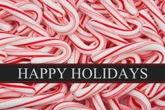 Bonnes fêtes saluant Photo libre de droits