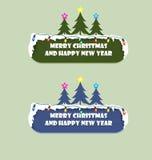 Bonnes fêtes signe Photographie stock