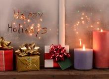 Bonnes fêtes Image stock
