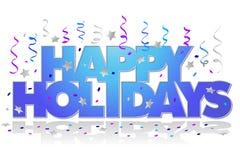 Bonnes fêtes/ENV Photographie stock