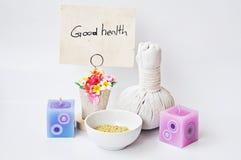 Bonnes santés image libre de droits