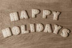 Bonnes vacances de souhait images libres de droits
