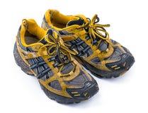 Bonnes vieilles chaussures de course Photos libres de droits