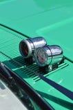 Bonnet mounted instrument gauges. Stock Photos