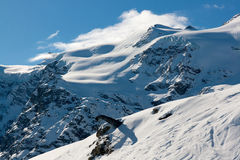 Bonneval Sur Arc. Mountain above Bonneval Sur Arc, Savoy Alps, France Stock Photography