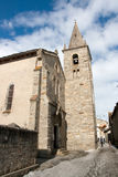 Bonneval Sur Arc. Church in village Bonneval Sur Arc, Savoy Alps, France Royalty Free Stock Photo