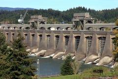 bonneville水坝西方北部的俄勒冈 库存照片