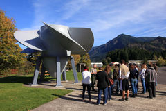 Bonneville - 17 octobre : Excursion guidée pour des étudiants Photographie stock