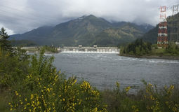 Bonneville Dam Royalty Free Stock Photos
