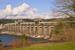 Bonneville Dam Royalty Free Stock Image