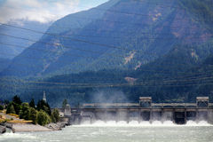 Bonneville Dam Royalty Free Stock Photography