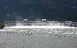Bonneville dam, Oregon. Stock Photos