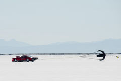 Bonneville racer Royalty Free Stock Photo