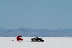 Bonneville racer Royalty Free Stock Image