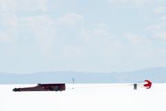 Bonneville-Rennläufer Stockbild