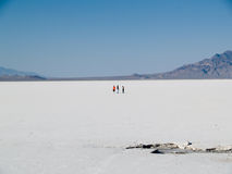 Bonneville Salt Flats Royalty Free Stock Images