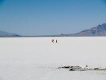 Bonneville Salt Flats Royalty Free Stock Images