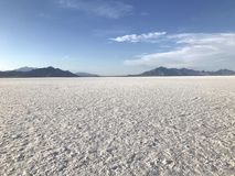 Free Bonneville Salt Flats In Western Utah Stock Images - 163304484