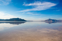 Bonneville Salt Flats International Speedway Stock Photos