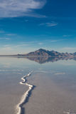 Bonneville Salt Flats International Speedway Royalty Free Stock Photography